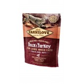 Carnilove Cat 0,4 kg Duck & Turkey Large Breed (д/ крупных пород)