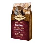 Carnilove Cat 2 kg Raindeer - Energy & Outdoor (д/активных кошек)