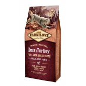 Carnilove Cat 6 kg Duck & Turkey Large Breed (д/ крупных пород)