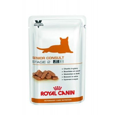 ROYAL CANIN SENIOR CONSULT STAGE 2 ВЛАЖНЫЙ 0.1 КГ