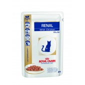 ROYAL CANIN  RENAL FELINE CHICKEN Pouches. ВЛАЖНЫЙ 0.085 КГ